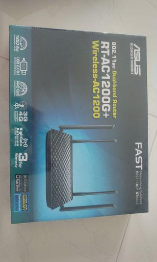 🚚 Brand New SEALED - ASUS RT-AC1200G+