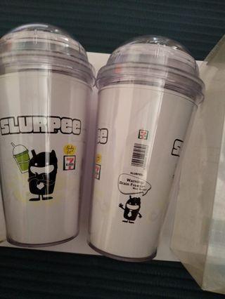 7 ELEVEN SLURPEE BOTTLE CUP FOR COLD DRINKS