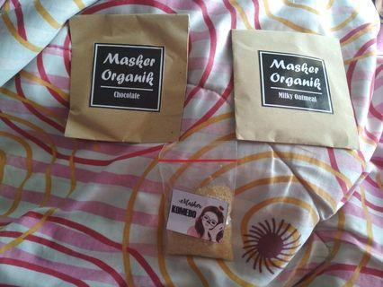 Take all 20k.Masker organik+masker komedo