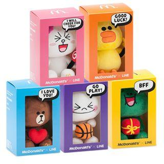 LINE Plush Collectibles