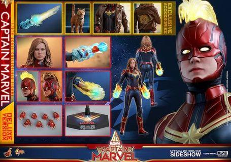 Hottoys captain marvel deluxe 訂單 最期單