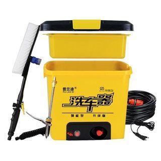 12v車載洗車機220v高壓水泵電動刷車神器水槍搶家用洗車器