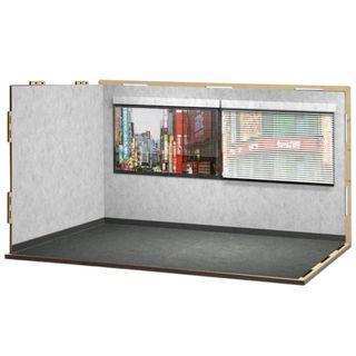 [現貨] 箱庭技研 hakoniwagiken Diorama Room M Set 12 Office B (Sticker Applied) ジオラマルームM セット12 オフィスB(シール貼付け済)