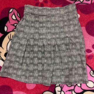 Preloved Checkered Tennis Skirt