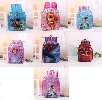 Kids boys girls ..Backpack cartoon kindergarten /preschool