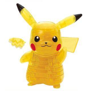[訂貨] 寵物小精靈/ 精靈寶可夢 比卡超 Puzzle 3D Pikachu