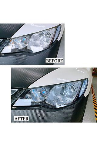 📌 Headlight Tinting (Ice Blue)