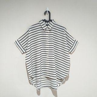 Cotton Ink Striped Blouse