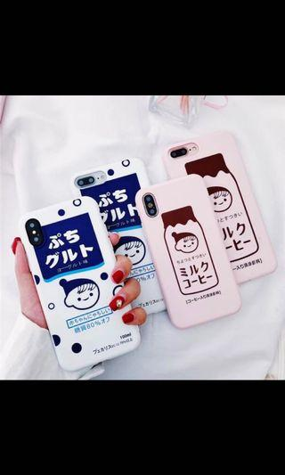 🚚 Strawberry milk iPhone case