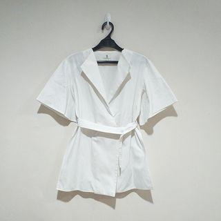 SOL White Top With Belt
