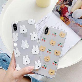 Bear & Rabbit Phone Case