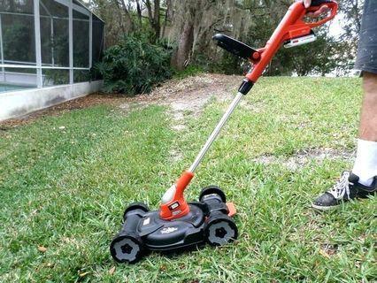 $10 rent 1 day - Grass Trimmer Edger Mower 3-in-1 Black & Decker