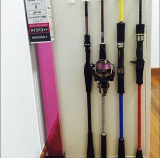 Spiral Wrap For Fishing Rod Protection