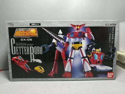 中古 GX-06 超合金魂 Soul of Chogo kin 三一萬能俠 蓋特機器人 Getter Robo 永井豪 石川賢 流龍馬