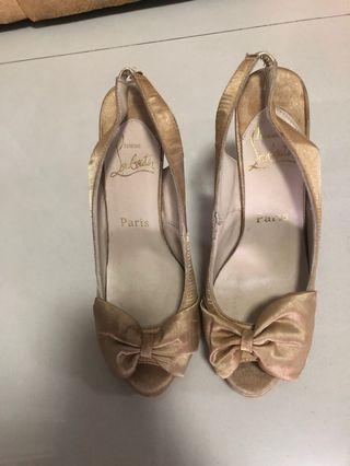 Sepatu wanita heels preloved