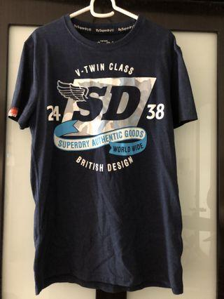 Navy Superdry Authentic