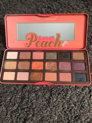 Sweet Peach Shadow Palette From Too Faced