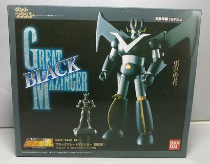中古 GX-02B 超合金魂 Soul of Chogo kin 鐵甲萬能俠 黑魂 Black Great Mazinger 永井豪 兜甲兒 杜劍龍