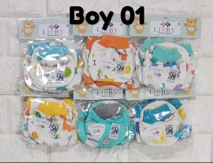0-6 Libby Baby Mittens and Booties (6 for $12) / miyo baby / baby mitten booties