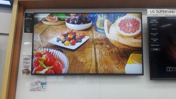 "Samsung LED TV 55"" UHD SMART dapatkan free 1x cicilan tanpa cc!"