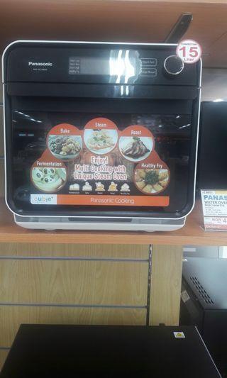 Panasonic water oven bisa di cicil tanpa cc promo free 1x cicilan!