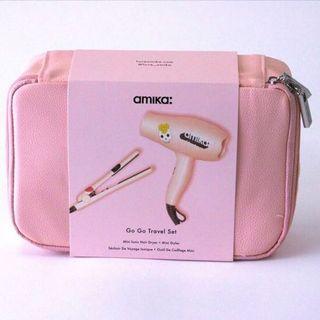 全新可預訂 美國限量版 Amika Go Go Travel Set (mini dryer+styler) 迷你風筒+陶瓷造型器 直髮夾