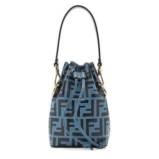 Fendi Mon Tresor mini monogrammed bucket bag