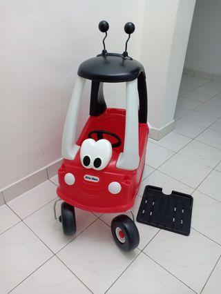 Little tikes ladybird cozy coupe baby to  kids ride