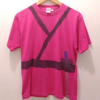 Hand Painted Pink T Shirt