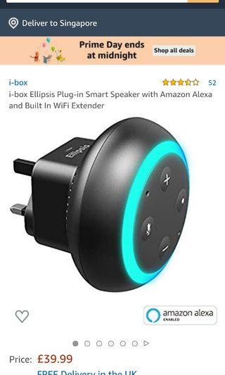 🚚 Smart speaker with Amazon Alexa