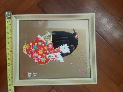 Framed japanese girl