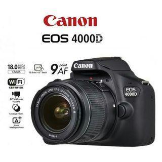 Canon 4000D lensa 18-55