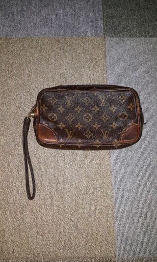 Louis Vuitton Marly Dragonne Clutchbag Authentic