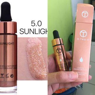 O two o liquid highlighter sunglow