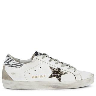 Golden goose Deluxe Brand Superstar white leather sneakers