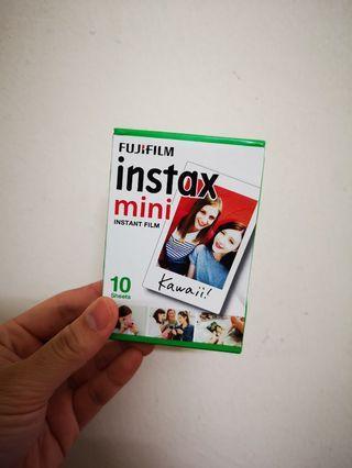 2020-01 Ready stock Instax Mini Film plain 10pcs