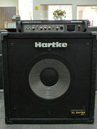 Hartke LH1000 Bass Amplifier with Cabinet