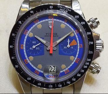 古董TUDOR上鏈計時錶