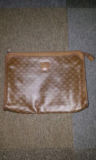 Celine Vintage Clutch Bag Authentic