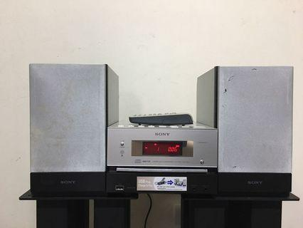 Sony mini stereo usb cd 床頭音響