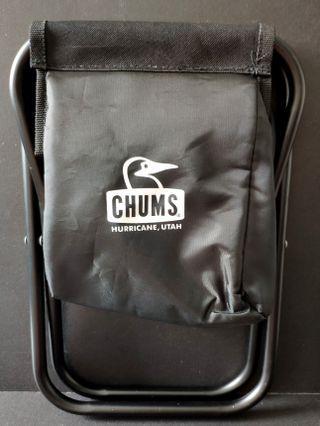 全新正貨CHUMS戶外摺凳