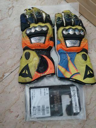 Dainese Full Metal VR46, race gloves genuine