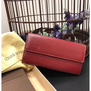 *100% AUTHENTIC* Louis Vuitton – Epi Leather Wallet