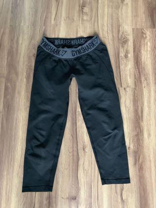 Gymshark black leggings cropped