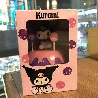 現貨 泰國7-11 Kuromi cupcake 蛋糕擺設盒仔