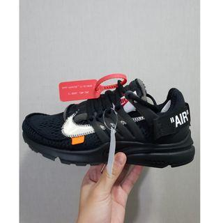 "Off-White x Nike Air Presto ""Black"""