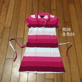 全新6-7歲 Tommy Hilfiger 女童polo連身裙洋裝