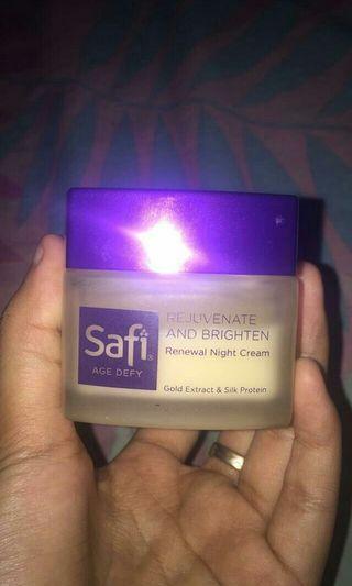night cream safi
