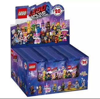 Lego Movie Minifigures Full Box