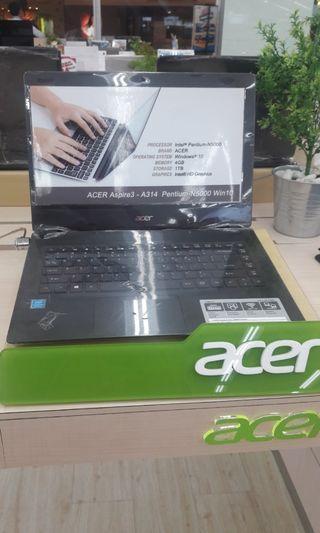 Laptop Acer Dpatkan promo cicilan tanpa cc DP hanya 10%!!